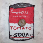Lapsed III - Andy Warhol Tomato soup - Eliise Kaha 13a, Hedvig Põllumäe 13a, Katleen Süld 13a Tallinna Nõmme Gümnaasium