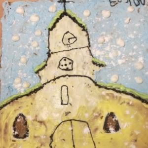 Talvine Jaani kirik.  Tobias Penasse, Sten Kõrve, Arles Arusaar. Tallinna Nõmme Gümnaasium
